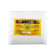 Полимерная глина Пластишка/bebik, №0101 белая, 1 кг