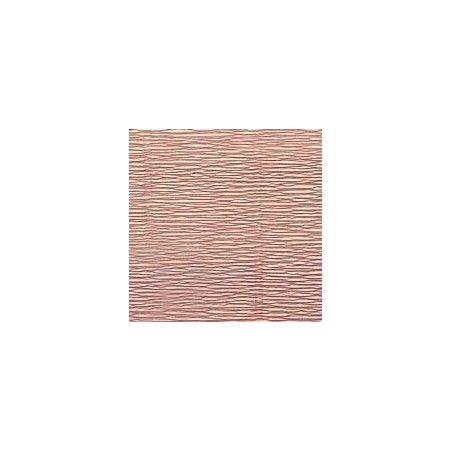 Креп-бумага (гофро-бумага) Cartotecnica Rossi,180г/м², 50смх2,5м, №17Е1 Пыльный серо-бежевый