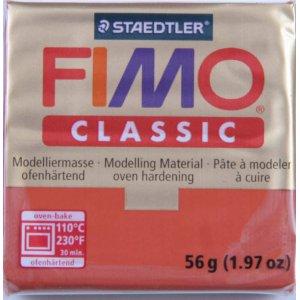 Полимерная глина Fimo Classic, 56г - №0, белый