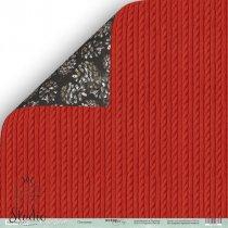 """Лист двусторонней бумаги 30x30 """"Плетение"""" Nordic Spirits, 190г/м2, 1 лист"""