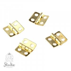 Завеса для шкатулки В-011, цвет золото, 1,6*1,2 см (1шт)