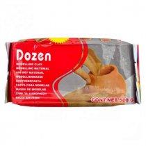 Самозатвердевающая пластика ''Dozen'', цвет терракотовый,  500 г