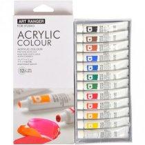 Набор акриловых красок Art Rangers, 12 цветов*12мл