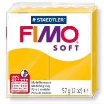 Полимерная глина Fimo Soft, 56г, №16, подсолнух