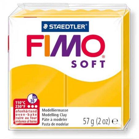 Полимерная глина Fimo Soft, 57 г, №16, подсолнух