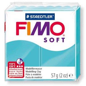 Полимерная глина Fimo Soft, 57 г, №39, бирюзовый