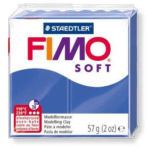 Полимерная глина Fimo Soft, 57 г, №33, голубой