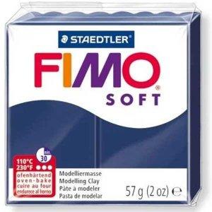 Полимерная глина Fimo Soft, 57 г, №35, темно-синий
