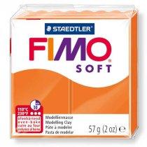 Полимерная глина Fimo Soft, 56г, №42, мандариновый