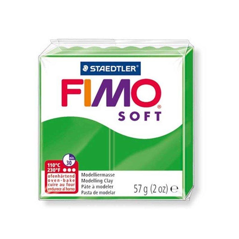 Полимерная глина Fimo Soft, 57 г, №53, зеленый