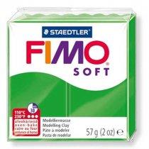 Полимерная глина Fimo Soft, 56г, №53, зеленый