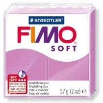 Полимерная глина Fimo Soft, 56г, №62, лавандовый