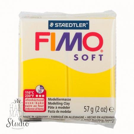 Полімерна глина Fimo Soft, 57 г, №10, лимон