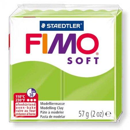 Полимерная глина Fimo Soft, 57 г, №50, салатовый