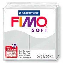 Полимерная глина Fimo Soft, 57 г, №80, серый