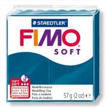 Полимерная глина Fimo Soft, 57 г, №31, калипсо синий