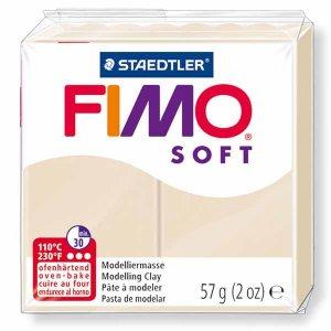 Полимерная глина Fimo Soft, 56г, №70, песочный