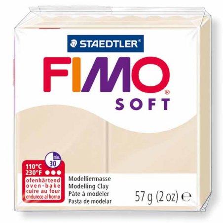 Полимерная глина Fimo Soft, 57 г, №70, песочный