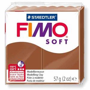 Полимерная глина Fimo Soft, 57 г, №7, карамель