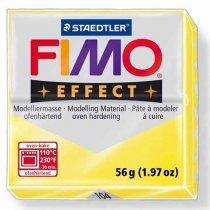 Полимерная глина Fimo Effect, №104, желтый полупрозрачный, 57 г