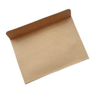 Крафт конверт, 16х11 см, цвет крафт