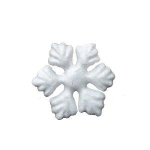 Мини-снежинка пенопластовая, 5 см