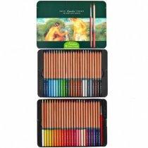 Набор акварельных художественных карандашей Aqua Fine Art/48TN, MARCO, 48 цветов