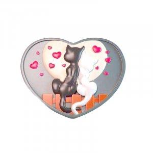 """Форма-элит для мыла """"Влюбленные коты"""" 2D"""