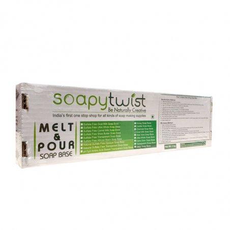 """Основа для мыла """"Extra Clear""""( Ультрапрозрачная) Soapytwist (Индия), 1 кг"""