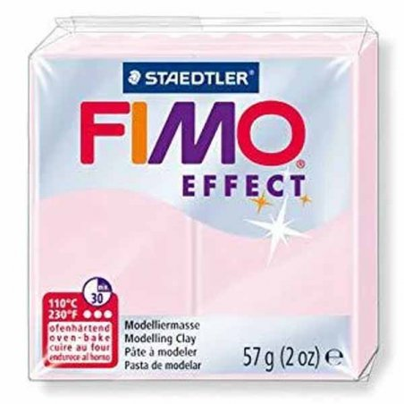 Полімерна глина Fimo Effect, №206, рожевий кварц, 57 г