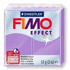 Полимерная глина Fimo Effect, №605, пастель фиолетовый, 57 г