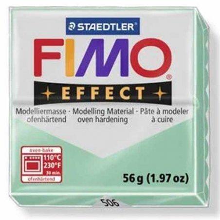 Полимерная глина Fimo Effect, №506 зеленый нефрит, 57 г