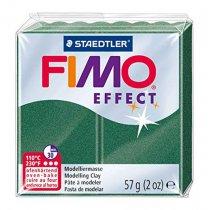 Полимерная глина Fimo Effect, №58, зеленый металлик, 57 г