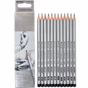 Набор карандашей различной твердости MARCO7000-12СB (Н-4В), 12 штук