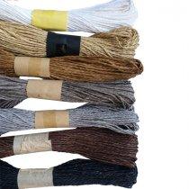 Шнур хлопчатобумажный, цвет светло-коричневый, 30 м