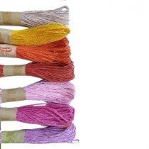 Шнур хлопчатобумажный, цвет светло-лиловый, 30 м