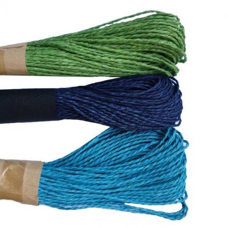 Шнур хлопчатобумажный, цвет салатовый, 30 м