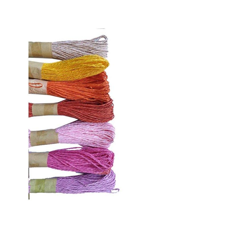Шнур хлопчатобумажный, цвет светло-розовый, 30 м