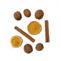 Новогодний набор с корицей и апельсиновыми дольками