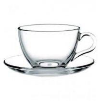 Чашка и блюдце чайные
