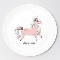"""Тарелка """"Unicorn Magic"""", d 25 см"""