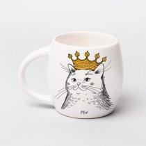 """Чашка """"Киця в короні"""", 450 мл"""