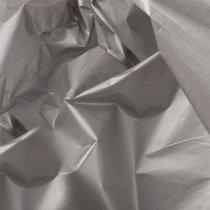 Бумага тишью, цвет- серебро (металлизированная с одной стороны), 50х65 см, 5 листов