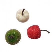 Микс декоративных яблочек, 3 штуки