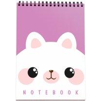 """Блокнот №1128 """"Mimimi note"""" Cat, B6, 120 листов"""
