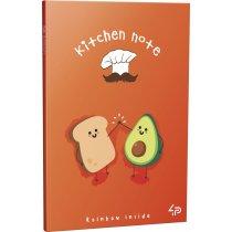 """Блокнот №1234 """"Rainbow kitchen note"""" avocado, A6, 96 листов"""