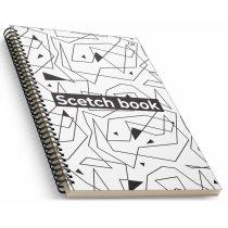 "Блокнот №1654 ""Creamy sketch book"" four, A5, 160 листов"
