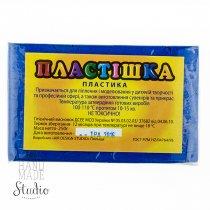 Полимерная глина пластишка/bebik, №0114 лазурно-синий, 250 г