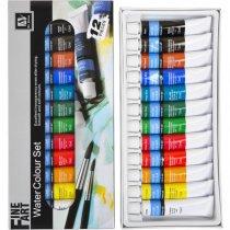Набор акварельных красок Art Nation, 12 цветов*12мл