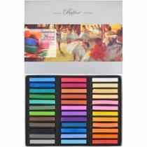 """Пастель сухая """"Fine Art"""" MARCO 7300/36, 36 цветов"""